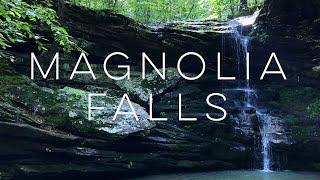 Waterfall Hunting Arkansas 💦 Camping and Hiking Magnolia Falls 🏕 Part 1