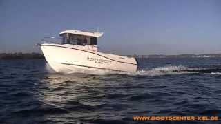 Bootscenter Kiel - Quicksilver Captur 605 Pilothouse mit 150 PS Mercury