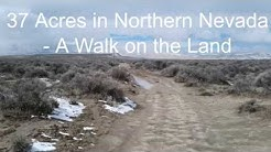 37 Acres For Sale By Owner in Northern Nevada - Property Walk-through