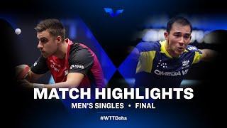 Darko Jorgic vs Hugo Calderano | WTT Star Contender Doha 2021 | Men's Singles | Final