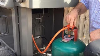 Weber® Genesis® II: How To Attach A Gas Bottle On The Side
