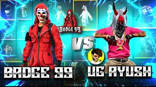 Ungraduate Gamer Vs Badge99🔥 Funniest Collection War - Garena Free Fire