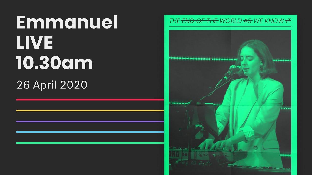 Emmanuel Live Online Service // 10:30am Sun 26 Apr 2020 Cover Image