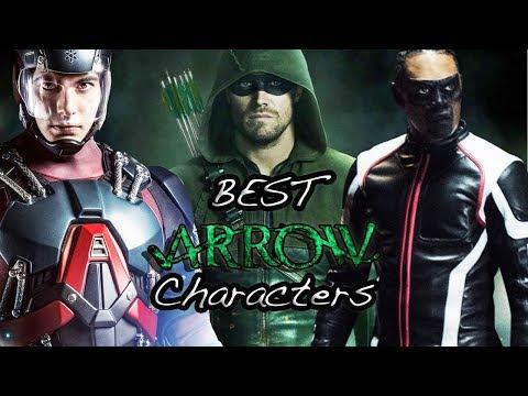 Arrow TV Series Top 7 Characters