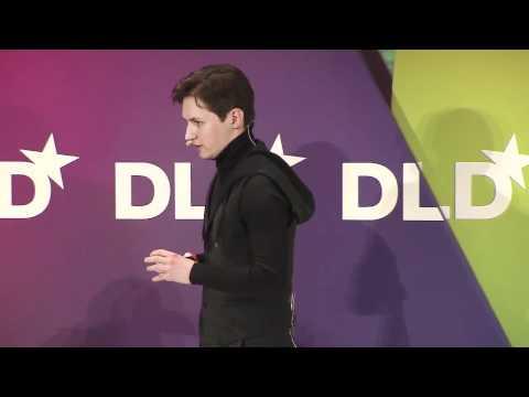 видео: Павел Дуров: Выступление на конференции dld