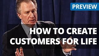 Creating Customers For Life - Sales Training Customer Retention Video Preview from Seminars on DVD