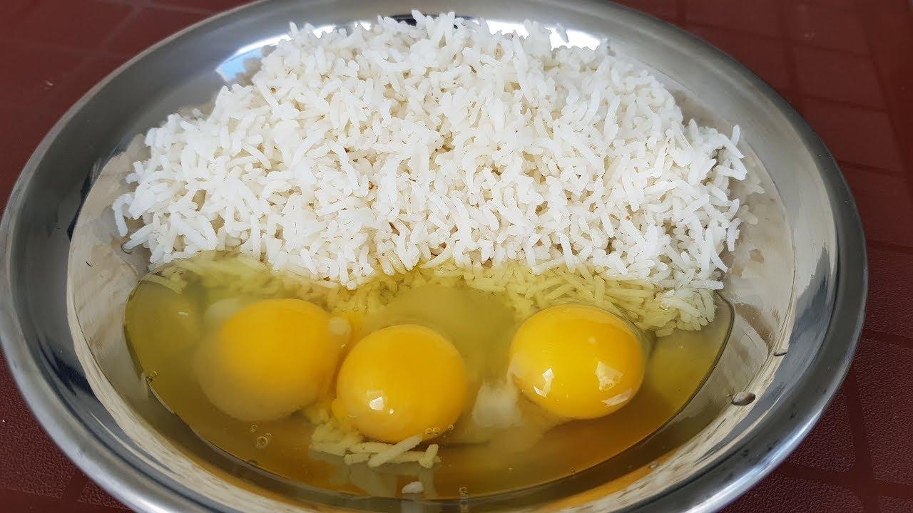 Egg Fried Rice Korean Style Egg Fried Rice By Mubashir Saddique Village Food Secrets Youtube