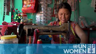 A returned migrant woman in Nepal finds a new start