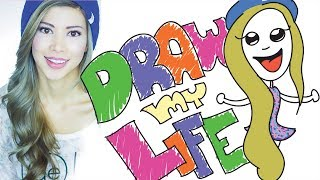 One of CloudyApples's most viewed videos: Draw My Life | Kassie