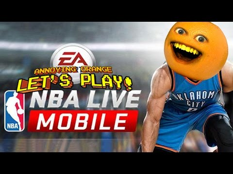 Annoying Orange Plays - NBA LIVE MOBILE
