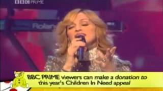 Madonna Get Together BBC Children In Need LIVE