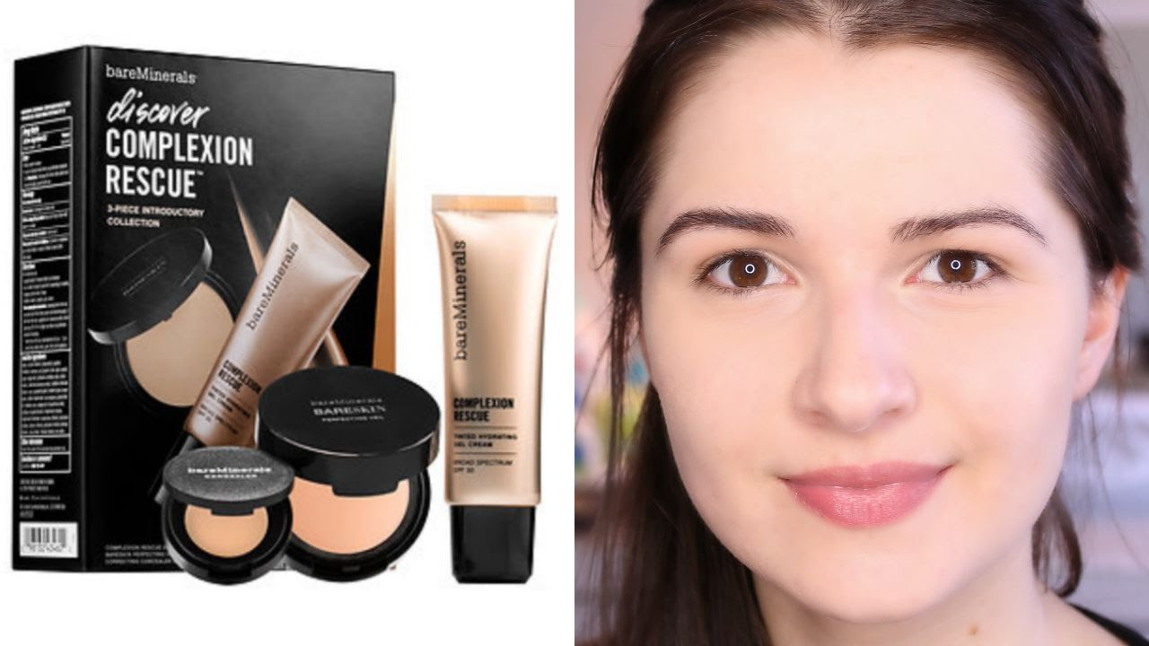 Bare Minerals Complexion Rescue Kit First Impressions Youtube