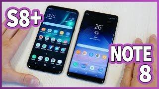 Galaxy Note 8 vs Galaxy S8 Plus!