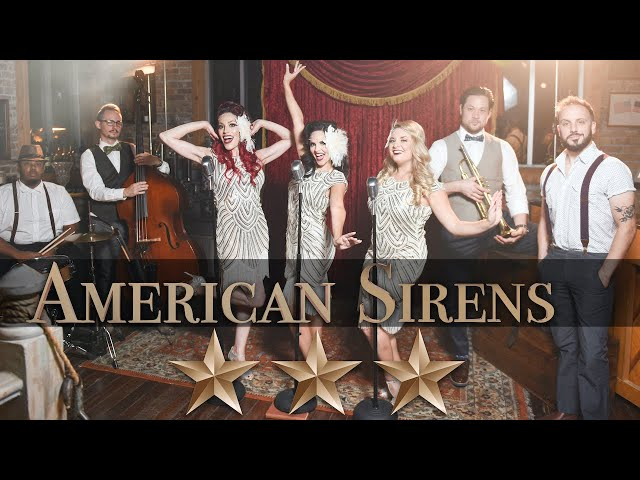 "The American Sirens in ""PUTTIN' ON THE RITZ"""