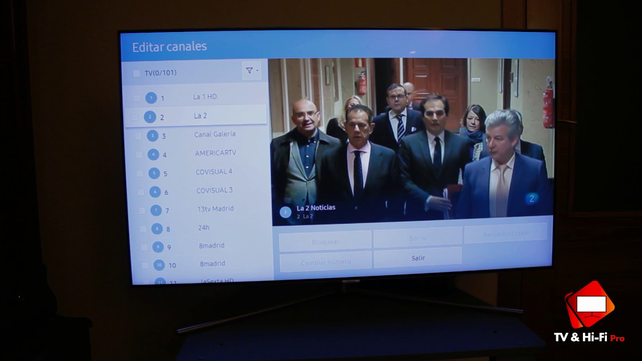 Como Ordenar Canales En Tv Samsung Smart Tv 2017 Youtube