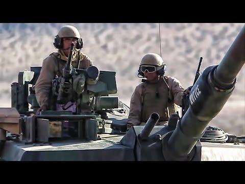 USMC Tank Battalion Training • Twentynine Palms