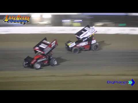 Lake Ozark Speedway 360 Sprints Nationals Winged Qualifier 1