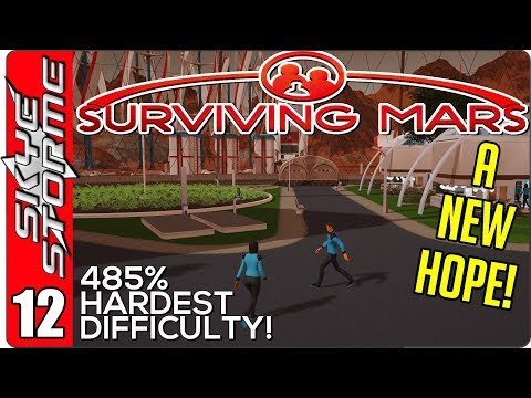 Surviving Mars Gameplay Ep 12 ►A NEW HOPE! ONE MILLION WATER!◀ 485% HARDEST DIFFICULTY PLAYTHROUGH