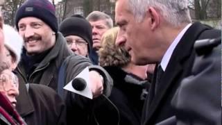 17 grudnia 2000 Jerzy Buzek w Szczecin
