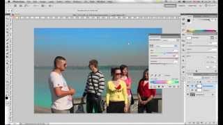 Урок Adobe Photoshop КА ШАГ. Тема: Регулировка насыщенности