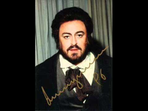 """Luciano Pavarotti-""""Che gelida manina..."""";La Boheme, Giacomo Puccini"""