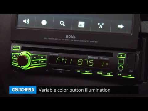 Boss BV860B Display And Controls Demo | Crutchfield Video