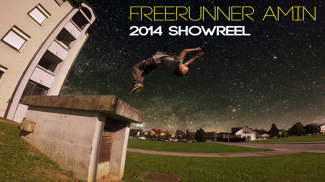 Freerunner Amin M. H. Showreel 2014 (awesome year)