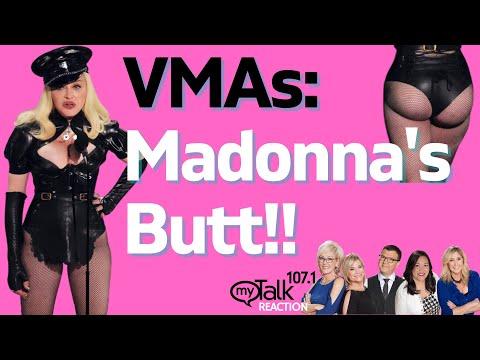 VMAs: Madonna's Butt!!