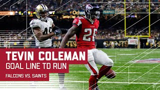 Tevin Coleman's 3rd TD Caps Off Another Huge Drive! | Falcons vs. Saints | NFL