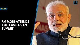 PM Modi attends 13th East Asia Summit in Singapore