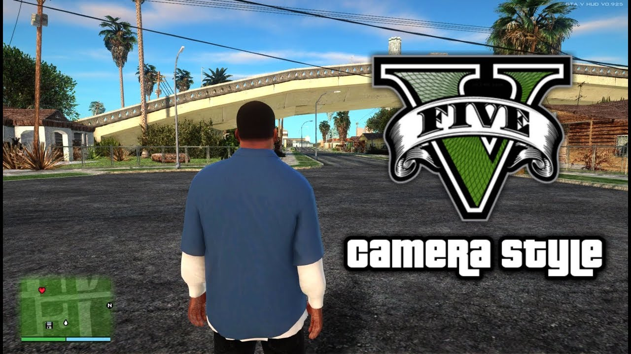 Gta San Andreas Gta V Camera Style Mod