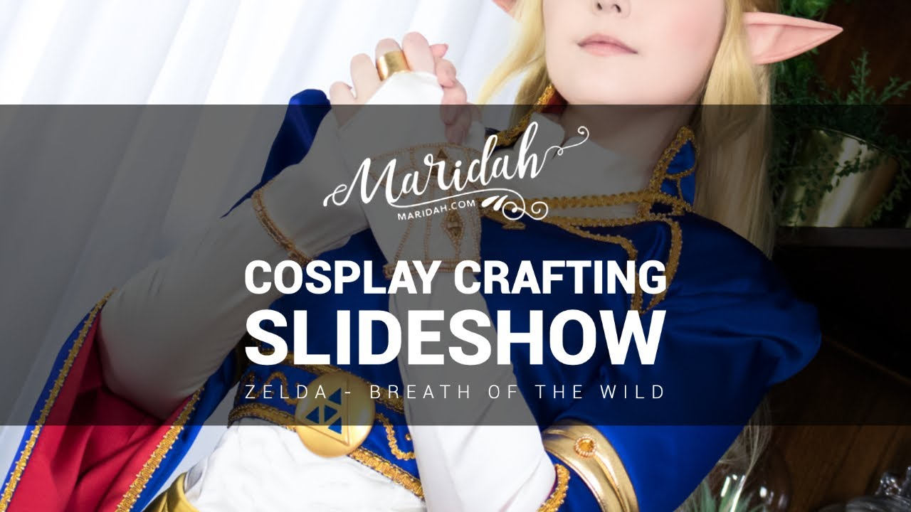 Cosplay Crafting Royal Dress Zelda Youtube