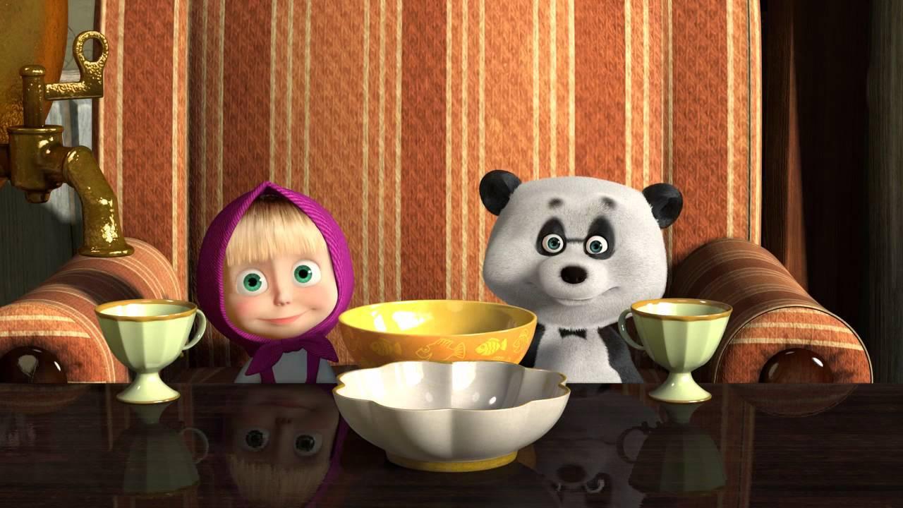 картинки маша и панда