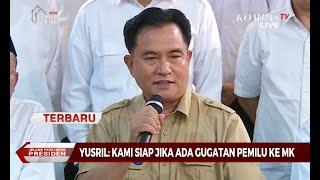 [TERBARU] Yusril: Kubu Jokowi-Maruf Siap Melayani Gugatan BPN di MK
