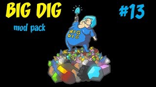 BIG DIG modpack: Space Program| TO THE MOON!!! #13 (minecraft)