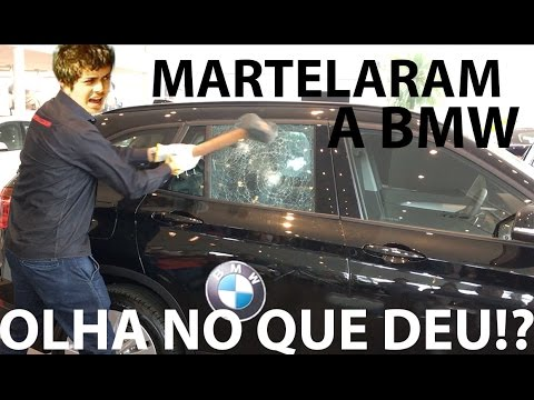 #549 Martelando e Estourando Vidro da BMW X1