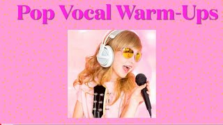 Pop Vocal Warm-Ups