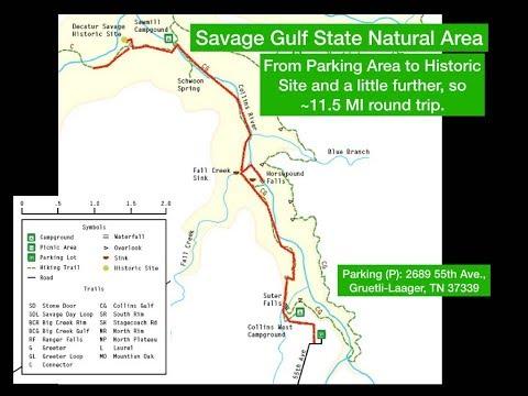 2017 NOV Savage Gulf Historic Site Hike