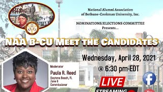 NAA B-CU Meet the Candidates