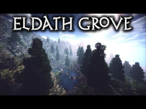 Minecraft: Eldath Grove - Ep3 Adding in a forest (Let's Build)