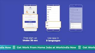WorkIndia Job Search App - Work From Home Jobs screenshot 1