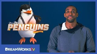 Do the Penguin Shake with tWitch  | PENGUINS OF MADAGASCAR
