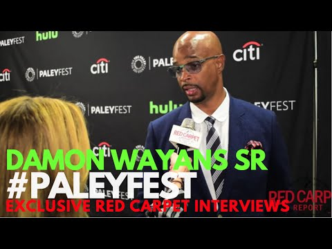 Damon Wayans Sr interview at PaleyFest Fall Preview for Lethal Weapon
