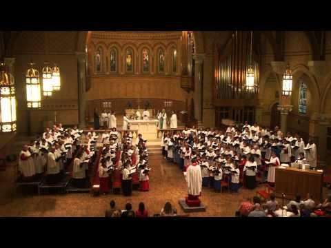 "RSCM sings ""Agnus Dei from Missa Brevis"" by Jonathan Dove"