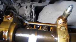 honda cr-v 2002 k24a регулирование клапанов valves clearance
