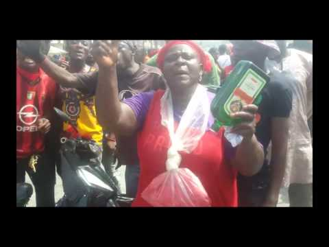 Woman Invokes curse on AngloGold Ashanti for refusing to give them a concession of land to mine