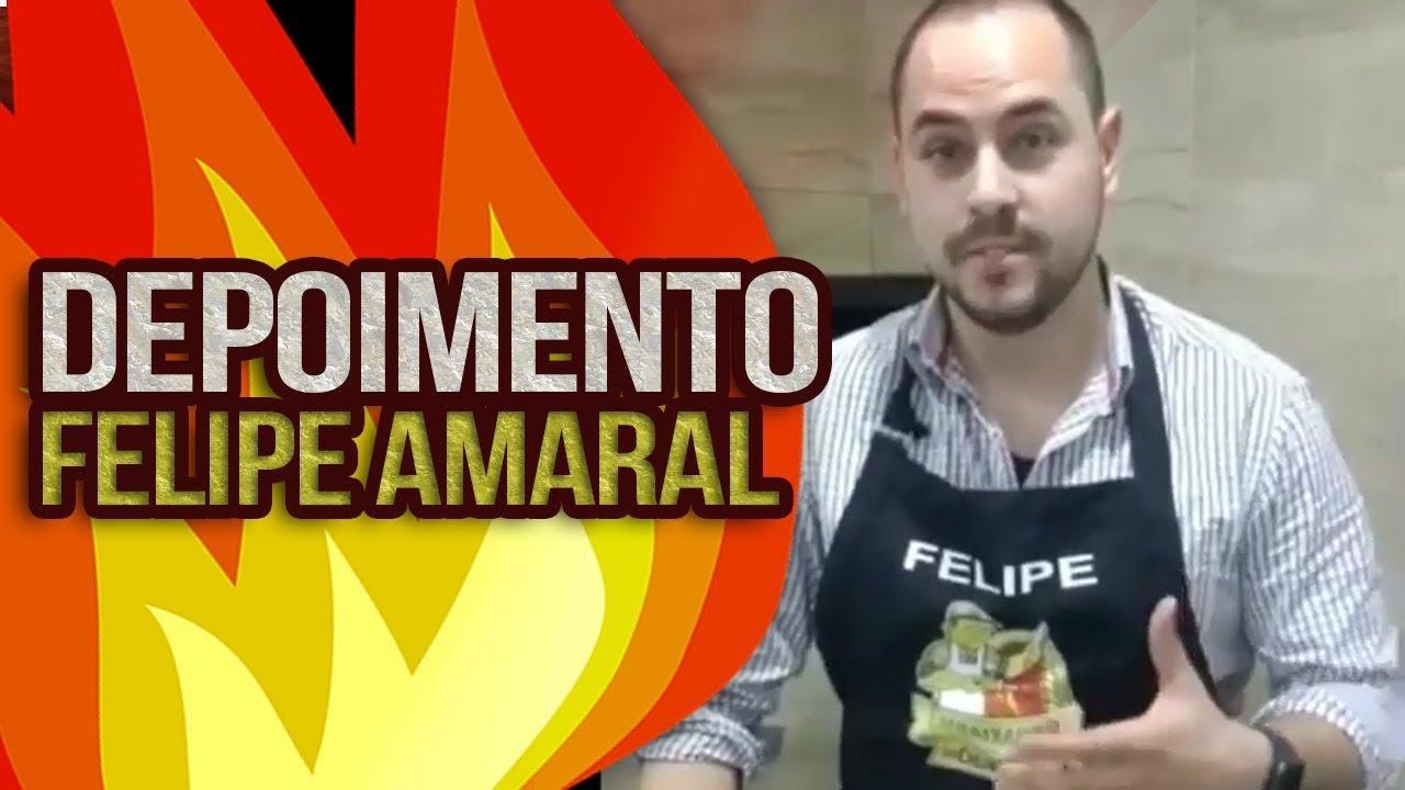 Depoimento do Aluno Felipe Amaral | Embaixador do Churrasco