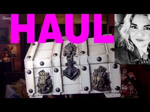 thrift-haul-1st-thrift-shopping-of-2019-vintage-jewelry-boxes-collectibles