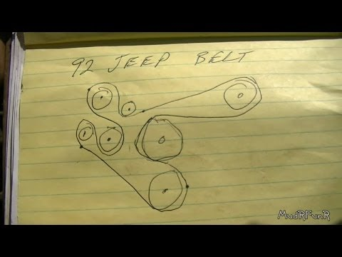 D E Df E B D E C A Df Acc likewise  likewise D Renix Vacuum Diagram Renix Belt Routing together with Kj Tb in addition Cj Belt Diagram Jeep Creep Wrangler. on jeep 4 7 belt routing