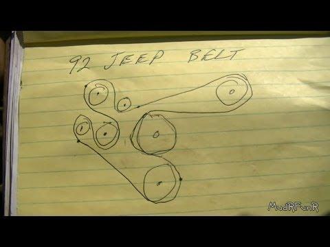 Jeep Wrangler Engine Belt Diagram Wiring Schematic Diagram